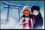 thanks for 50+watchers :One piece Naruto Crossover by Yahik0