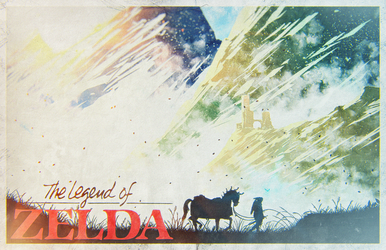 Breath of the Wild   The Legend of Zelda [Poster] by PlushGiant