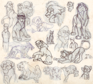 Sketchdump 2 by Mganga-The-Lion