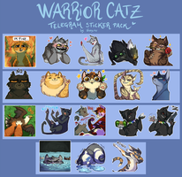 Warrior Catz Sticker Pack by VanyCat