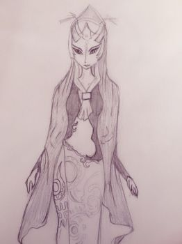 Princess Midna by millque