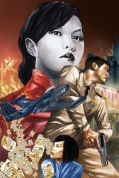 Rocket Crockett and The Shanghai She-Devil by KRStyle