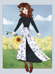 Sunflower of the Sunshine by AnnaVintage