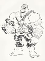 Hakan Lines - Street Fighter V Redesign by Zatransis
