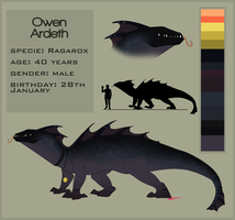 Owen reference sheet -2015- by GoldenNove