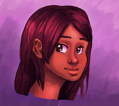 Alicia Portrait Thing by queenjazz225