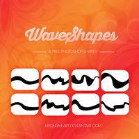 +Wave shapes by MyOnLyHeart