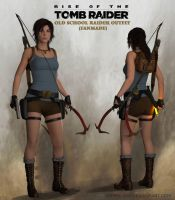 Rise of the Tomb Raider: Old School Raider outfit by doppeL-zgz