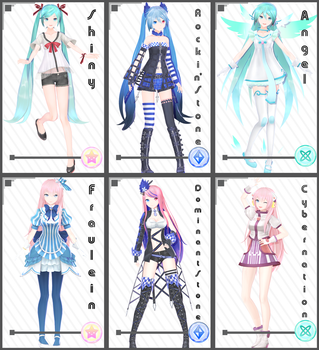 PD x YYB [Miku + Luka Set 1] Download by maydayfireball