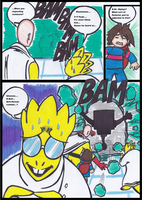 One Punch Tale Ep.6: The Royal Scientist pg 10 by Cashopeia