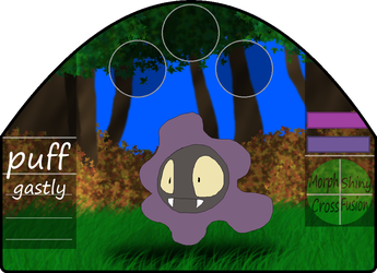 Puff|female|gastly by millemusen