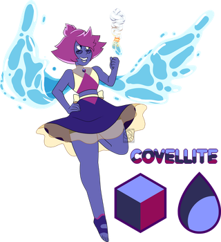 Fusion Comm- Covellite by XombieJunky