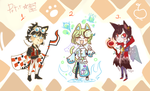 Petit Adopts - Closed by Kemikeni