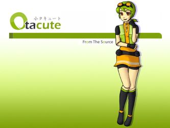 Otacute Mascot Cover Image by areautena