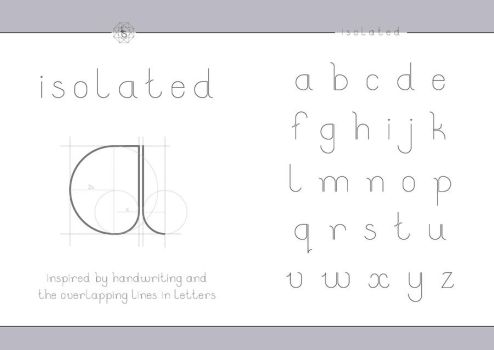 Isolated (font) by CyclopBunny