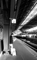 Amsterdam Central Station by J-25