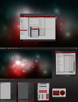 AMD themed Windows Desktop - Final preview by yorgash