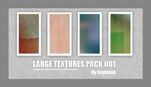 Large Textures Pack 001 by KeyMoon