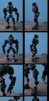 bionicle: dormus the toa of disease by CASETHEFACE