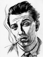 DSC - Robert Mitchum by The-Tinidril
