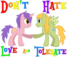 Love And Tolerate by Sheilakh