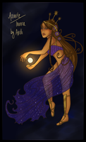Astarte or Inanna by andi-scribbles