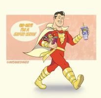 SHAZAM! by TheInsaneDingo