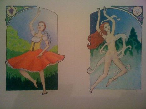 Giselle, Acts I and II by Rannegs