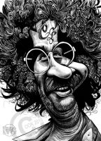 Jerry Garcia by RussCook