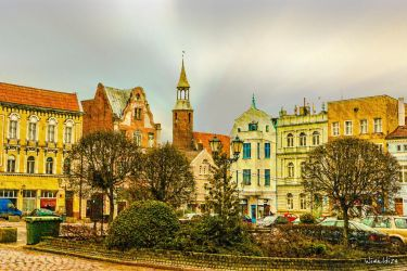 The Old Town in Tczew by wiwaldi24