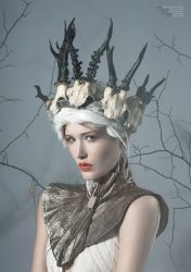 Torn V_2 for Dark Beauty Magazine by Michelle-Fennel