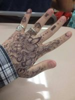 Abstract Mehndi by DragonSmurf