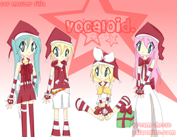 Vocaloid: Christmas by Kream-Cheese