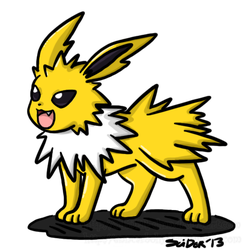 Dec. POKEDDEXY Challenge 19: Fav Eeveelution by SLiDER-chan