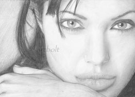 Angelina Jolie by artbolt