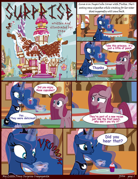 MLP Surprise Creepypasta pag 1 (English) by J5A4