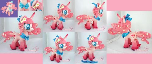 Blossom Breeze OC Plushie!  (Featured in DD!) by moggymawee