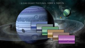 Gas Giant Textures by Dagohbert