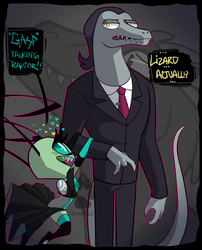 Crossover: I AM NOT A RAPTOR by PotatoBug-May