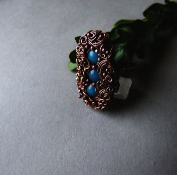 Blue Hyacinth Ring by Lethe007