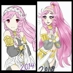 fire emblem redraw! by BunnyVoyage