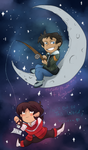 Klance Chibi Valentine: Gone Fishing For You by FireNationPhoenix