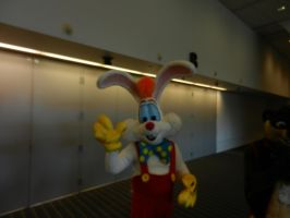 Roger Rabbit walkaround costume - Anthrocon 2018 by dth1971