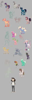 character desings sketches by Laps-sp