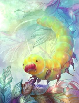 Weedle  by Leashe