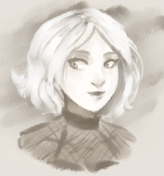 quick colette paint by Mishakiara