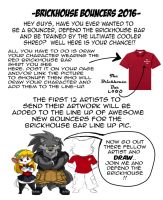 Brickhouse Bouncers Line Up *ARTIST NEEDED* by ShoNuff44