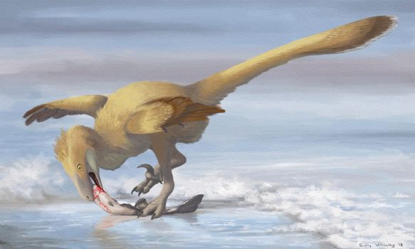 Deinonychus Sushi by EWilloughby