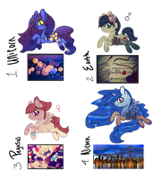 [CLOSED] Pics Ponies Adopts by EventideCreatures