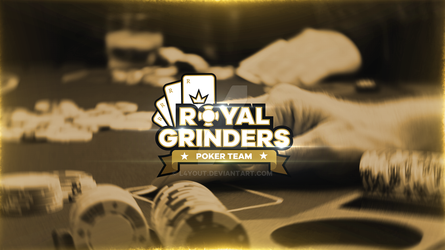 Royal Grinders Poker Team by L4yout